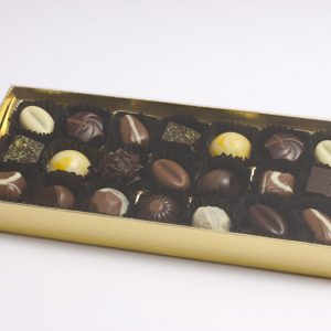 Caja de Chocolate Golden