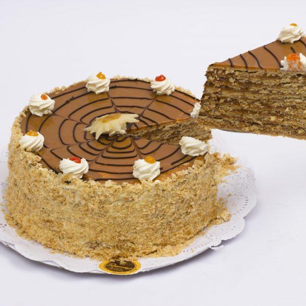 Venta torta hoja manjar
