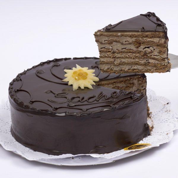 Venta de torta Sacher