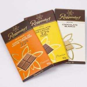 Barras de Chocolate de Leche