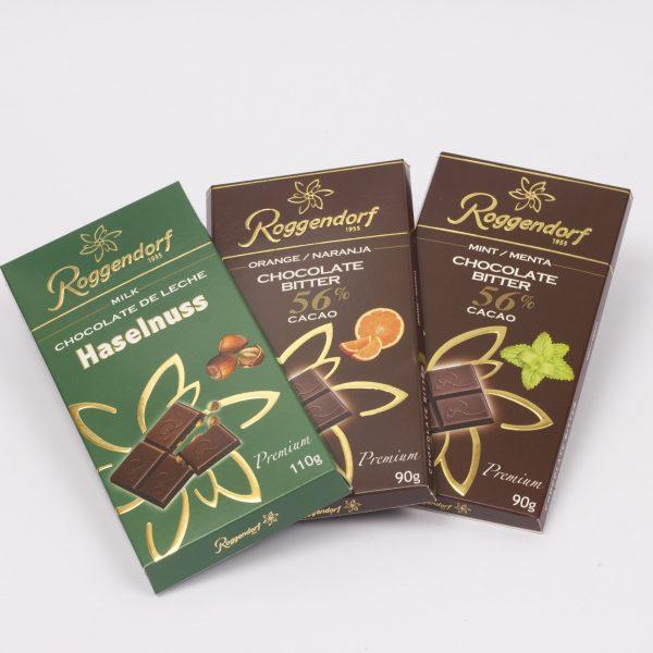 Barras de Chocolate con Sabor